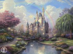 Disney Collection   Thomas Kinkade Paintings & Original Art Gallery, Capitola CA. Rare & Limited Edition Artwork.