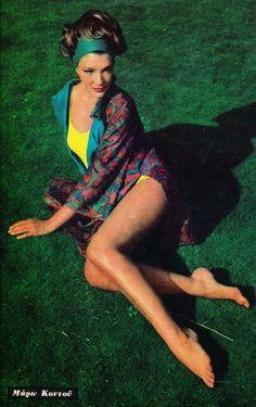 Maro Kontou Classic Actresses, Actors & Actresses, Greek Icons, Old Greek, Beautiful People, Beautiful Women, Greek Fashion, T Art, Old Movies