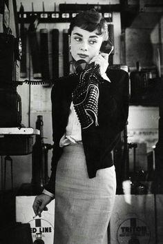 "classic-hollywood-glam: ""Audrey Hepburn """