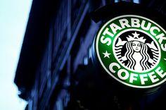 Starbucks Coffee Shop, in Manhattan, NYC