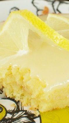 Lemon Sheet Cake - Back for Seconds