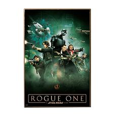 Star Wars Silver Buffalo SY0536 Rogue One Official Movie Poster 13 x 19 MDF Wood Wall Decor * Click image for more details.
