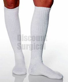 Over The Calf Walking & Diabetic Socks Light Support 8-15. Chicagotribune.com has featured article on compression sock and stockings helping with leg ailments. http://articles.chicagotribune.com/2013-08-28/health/sc-health-0828-compression-socks-20130828_1_compression-garments-socks-veins
