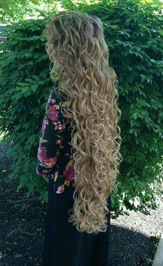 ♡ very long hair