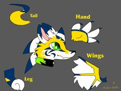 Dragon fur design