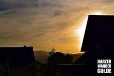 Die Tage abends in Wernigerode mit einem tollen Blick auf den Brocken.  #brocken #harz #harzbilder #wr #wernigerode #dämmerung #sonnenuntergang