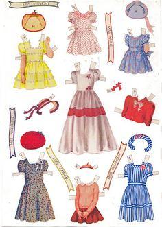 Miss Missy Paper Dolls: Little Miss America