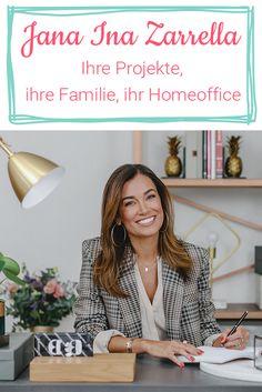 Jana Inas Homestory: Sie nimmt uns mit in ihr Homeoffice und spricht über Familie, Beziehung, Beruf und natürlich ihre Einrichtung. #homestory #janaina #wohnen #einrichtung #homeoffice