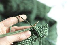 Super stretchy, super easy sewn bind-off