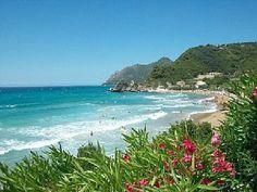 Pelekas Beach, Corfu