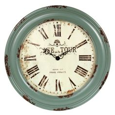 I pinned this Lyon Wall Clock from the Out of the Woodwork event at Joss and Main!