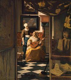 Jan Vermeer van Delft - The Love Letter