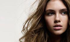 Glamour UK - David Oldham. Makeup by Lisa Eldridge http://www.lisaeldridge.com/gallery/editorial/ #Makeup #Beauty #Fashion