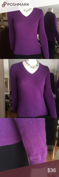 BLACK FRIDAY SALE CASHMERE SWEATER 100% pure Luxurious cable knit, v-neck, 2 ply cashmere. Worn layered or alone, this is one classic staple you'll turn to again and again. Ann Taylor Tops