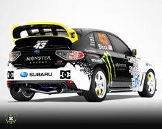 Subaru Impreza Wrx - Ken Block