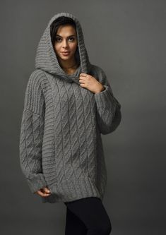 Hania by Anya Cole Seigfreid Sweater Fall 2017