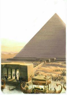Entierro del faraón