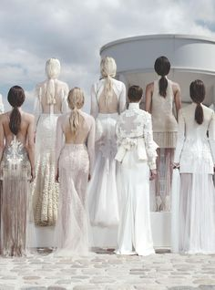 Givenchy Fall/Winter 2011 Haute Couture during Paris Fashion Week.