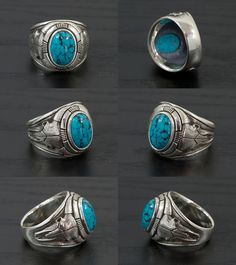 Lunatic Nights: Journey through the stars [buffaloscarling] ( Silver Jewelry / Silver / Silver 925 / / silver / ring / ring / skull / Turquoise / Sterling Silver /J. Girls Jewelry, Boho Jewelry, Bridal Jewelry, Vintage Jewelry, Jewelry Accessories, Fashion Jewelry, Fine Jewelry, Jewelry Design, Jewelry Ideas