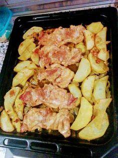 Contramuslos de pollo con vino al horno Easy Family Dinners, Easy Meals, Pollo Chicken, Baked Chicken Recipes, Four, Diy Food, Mexican Food Recipes, Good Food, Food And Drink