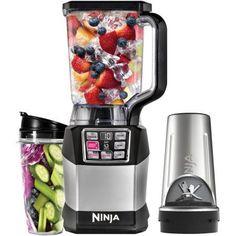 Nutri Ninja Auto-iQ Blender, BL490, Black