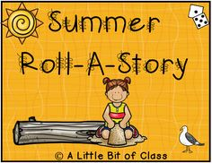 Roll A Story, Summer Rolls, Hands On Learning, Language Arts, Middle School, How To Become, Preschool, Teacher, Activities