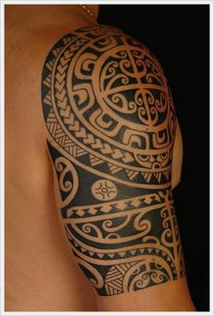 Tribal Band Tattoos For Men | tribal tattoo designs for arms (4)