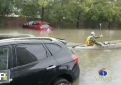 Fuertes Imágenes Del Resultado Del Huracán Harvey En Texas