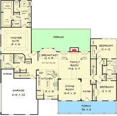 Appealing 3 Bed Country House Plan - 36060DK | Country, Traditional, 1st Floor Master Suite, Bonus Room, Butler Walk-in Pantry, CAD Available, Jack