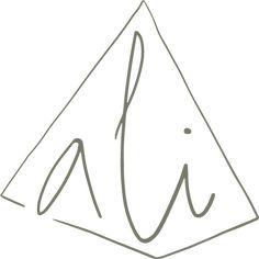 Logo Design for Collective & Magazine Publication 'A Loose Idea' #olive #logo Logo Nasa, Logo Design, Symbols, Letters, Magazine, Icons, Letter, Magazines, Warehouse