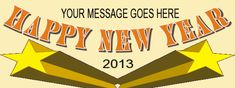 New Year Banner #8276 New Year Banner, Atari Logo, Messages, Logos, Logo, Text Posts, Text Conversations