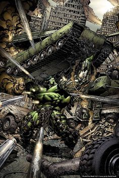World War Hulk Vol.1 #3 by David Finch *