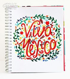 Who know you could get such vivid color from ink and water!? Always with Izink acrylic pigment inks! See how Meihsia Liu was inspired by Mexican Independence Day to create this Viva Mexico painted and lettered piece: http://blog.clearsnap.com/?p=14228    What would you paint with Izink?