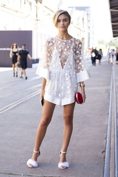 The Best Street Style From Sydney Fashion Week  - ELLE.com