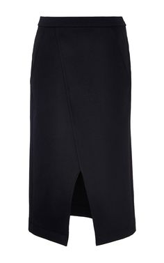 Compact Wool Skirt by Nina Ricci for Preorder on Moda Operandi