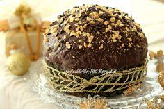 Panettone cioccolato e nutella panettone con lievito madre Panettone con cioccolato Panettone nutella Panettone cioccolato Panettone con nutella Panettone glassato