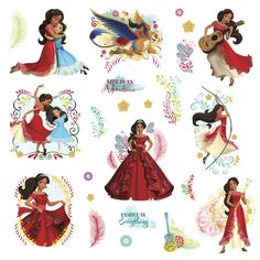 RoomMates Variable Sized - Disney Princess - Princess Elena of Avalor Wall Coverings Adhesives Wall Decals Disney Engagement Rings, Disney Wedding Rings, Vinyl Art, Vinyl Wall Decals, Wall Stickers, Princess Elena Of Avalor, Disney Proposal, Gift Boxes Wholesale, Disney Jewelry