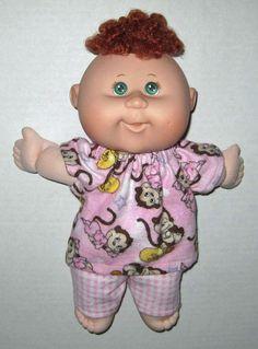 Cabbage Patch Newborn Surprise Doll  Pink Monkey by Dakocreations, $13.99