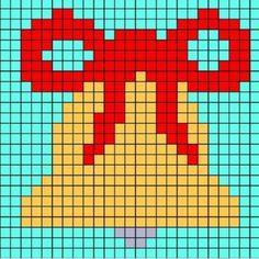 Xmas Cross Stitch, Cross Stitch Cards, Beaded Cross Stitch, Cross Stitch Borders, Cross Stitching, Cross Stitch Embroidery, Cross Stitch Patterns, Christmas Crochet Blanket, Christmas Crochet Patterns