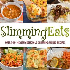Slimming Eats - over 500 healthy delicious recipes - Slimming World, Weight Watchers, paleo, gluten free, dairy free Healthy Chicken Recipes, Healthy Foods To Eat, Diet Recipes, Healthy Eating, Cooking Recipes, Recipies, Healthy Weight, Healthy Hair, Healthy Snacks