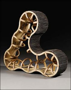 """""""You,"""" by Richard Deacon. As in you are a tank tread brought to life."""