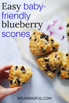 You will love this easy scones recipe because it uses a baking ratio easy to remember! All you need to know is 3-1-2 and you're good to start baking.