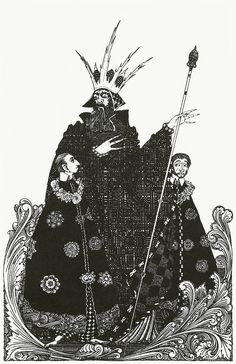 Harry Clarke, a wonderful illustrator.