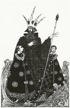 Harry Clarke, a wonderful illustrator.