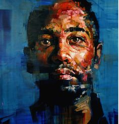"""Saatchi Art is pleased to offer the painting, """"Thirteen,"""" by Andrew Salgado. Original Painting: Oil on N/A. L'art Du Portrait, Abstract Portrait, Portraits, Portrait Paintings, Art Paintings, Colossal Art, Ouvrages D'art, Abstract Painters, Painting Abstract"""