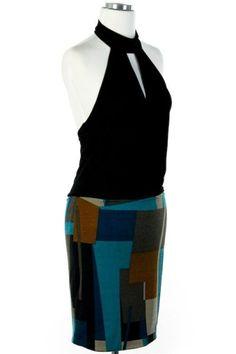 Ella + Cathy Color Block Dress $26.50