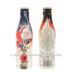 Aluminium contour Coca-Cola light bottle issued in 2007 for Christmas. CHECK OUT ALL OUR COKE BOARDS AND FOLLOW OUR OTHER BOARDS COCA COLA ADS COCA COLA BOTTLES COCA COLA CANS COCA COLA EVERYTHING ELSE COCA COLA VEHICLES