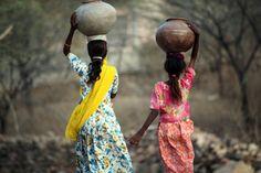 A por agua - Rajasthan, India