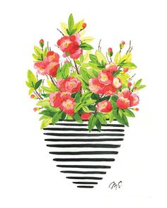 Mother's Day Gift Idea: Flower Prints by @Michelle Schneider, Quince