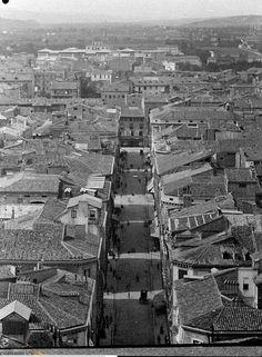 Calle Alfonso.1891 Valencia, City Photo, Barcelona, Vintage, Zaragoza, Antique Photos, Street, Cities, Places